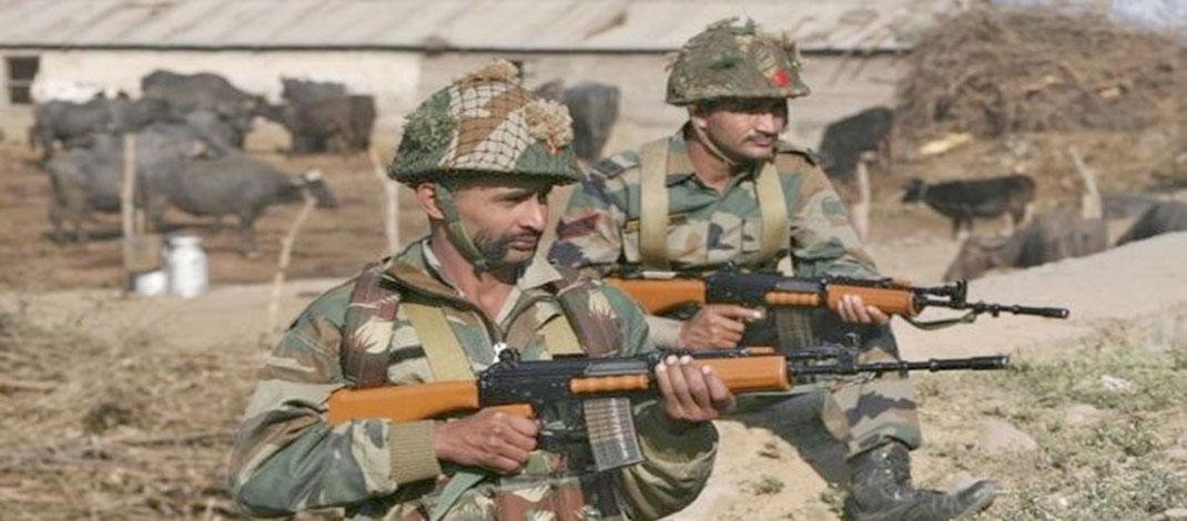 કાશ્મીર : જવાબી કાર્યવાહીમાં પાંચ પાકિસ્તાની સૈનિક ફૂંકાયા